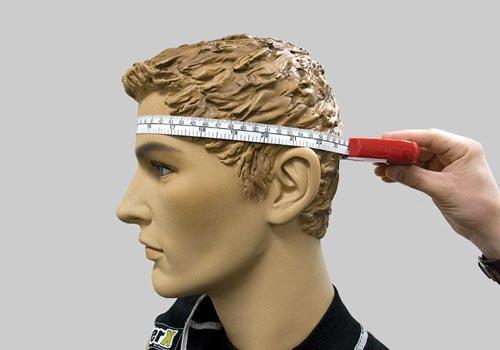 Измерение размера головы