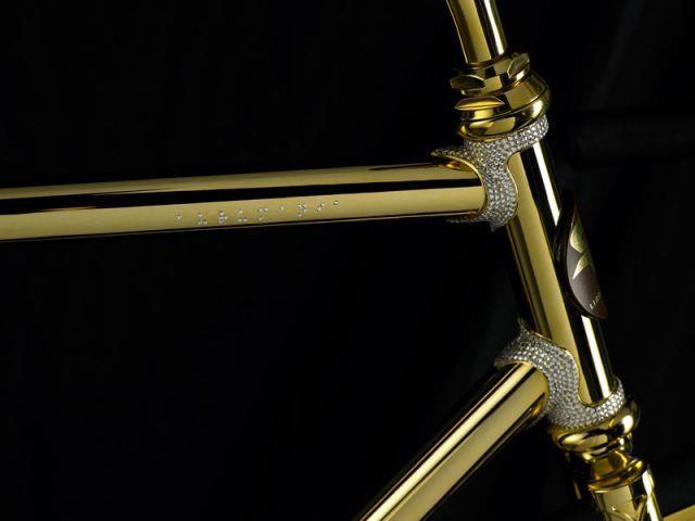 Aurumania Crystal Edition GoldBike