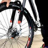 Передняя втулка велосипеда