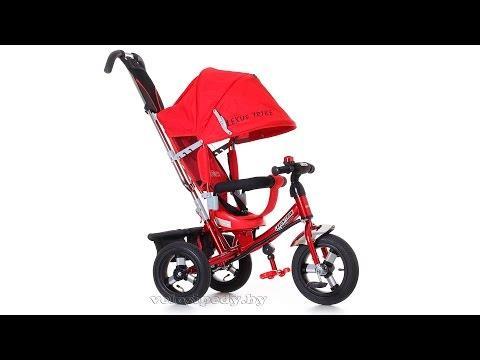 Видео обзор трехколесный велосипед-коляска Best Trike 698 Даша Никитина
