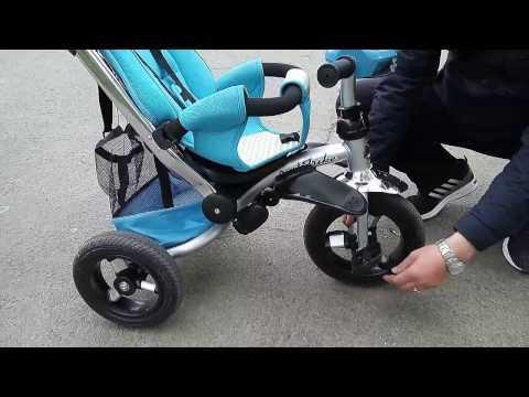 Трех-колесный велосипед-коляска Бест Трайк 698 демонстрация