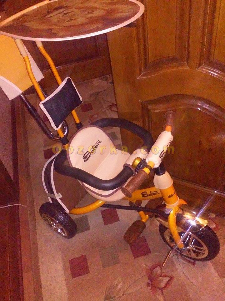 Велосипед детский трехколесный Lexus Trike Safari - хороший велосипед