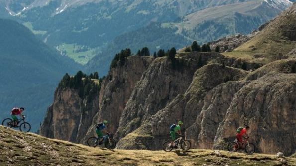 электрические горные велосипеды