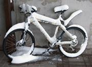 velosiped v snegy
