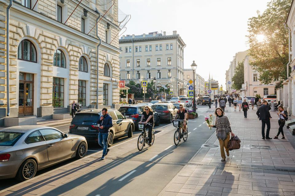 Дмитрий Чистопрудов, Москва, велосипеды, бесплатно