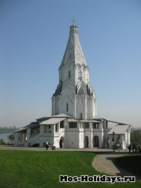 Церковь Вознесения Господня в усадьбе Коломенское