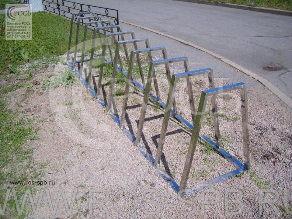 Производство велопарковок по эскизам заказчика
