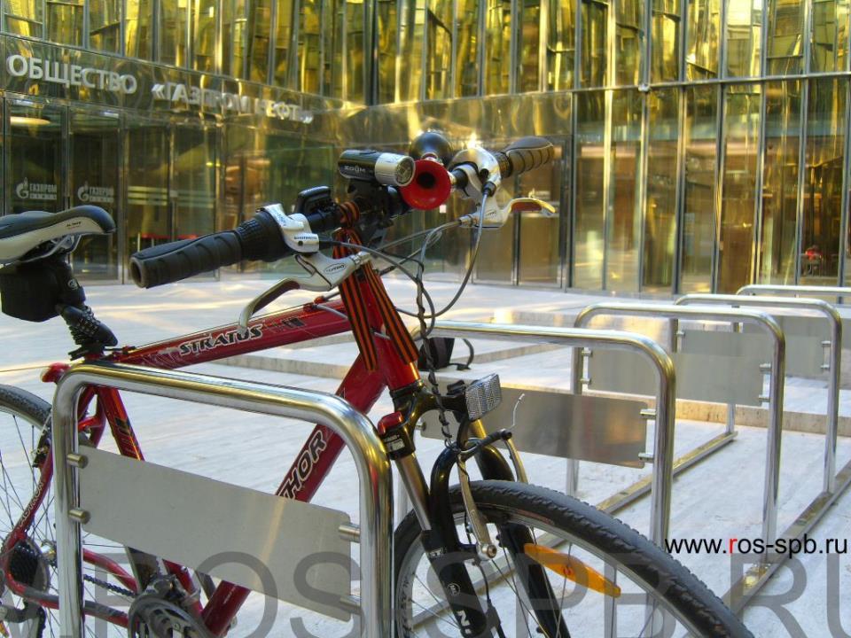 Практичные велопарковки для бизнес-центров