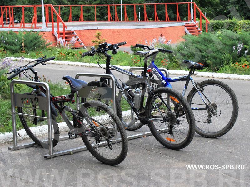 Велопарковка для Теле2