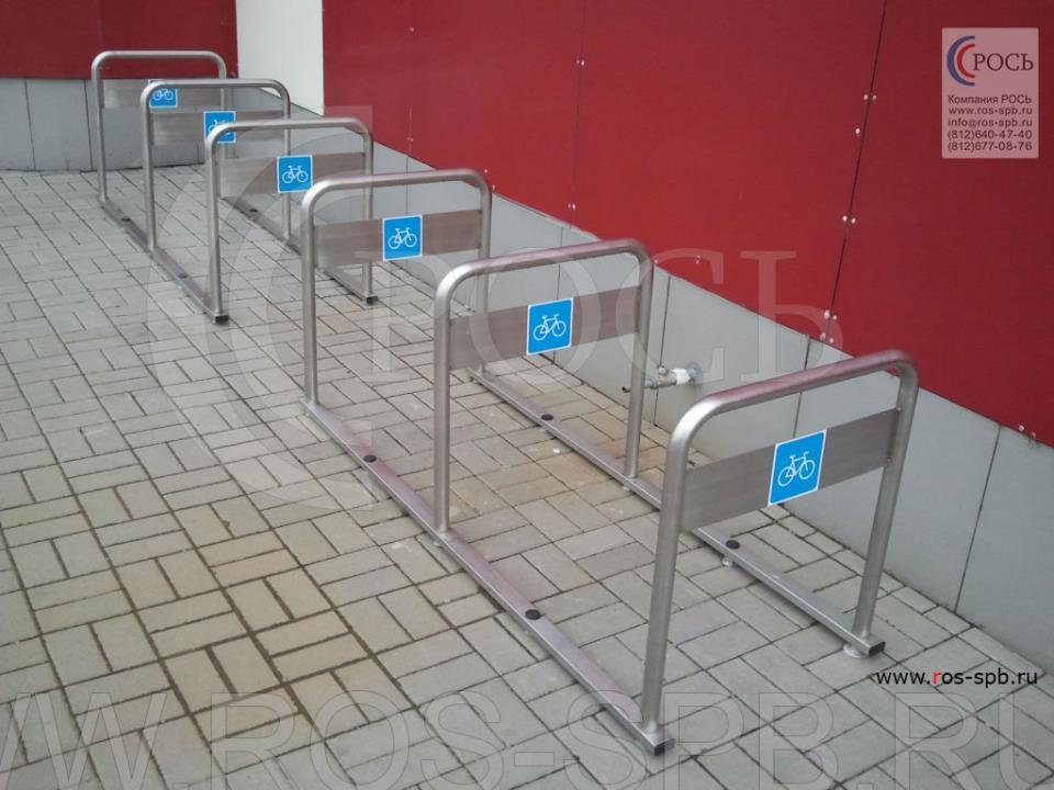 Цены на велопарковки