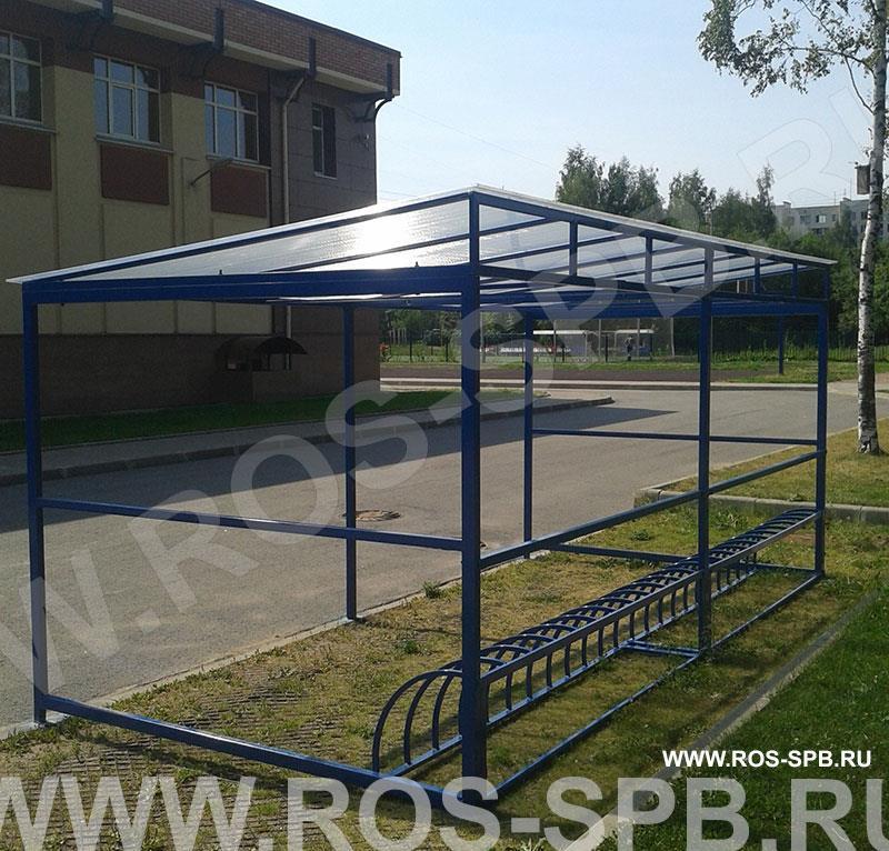 Производство и продажа крытых велопарковок под заказ