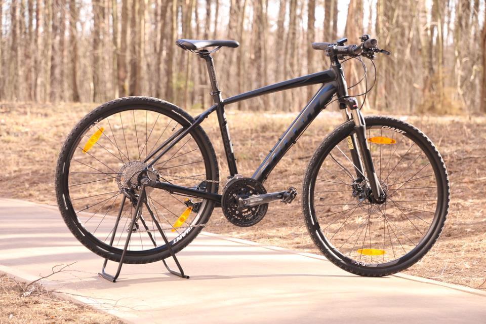 Гибридный велосипед