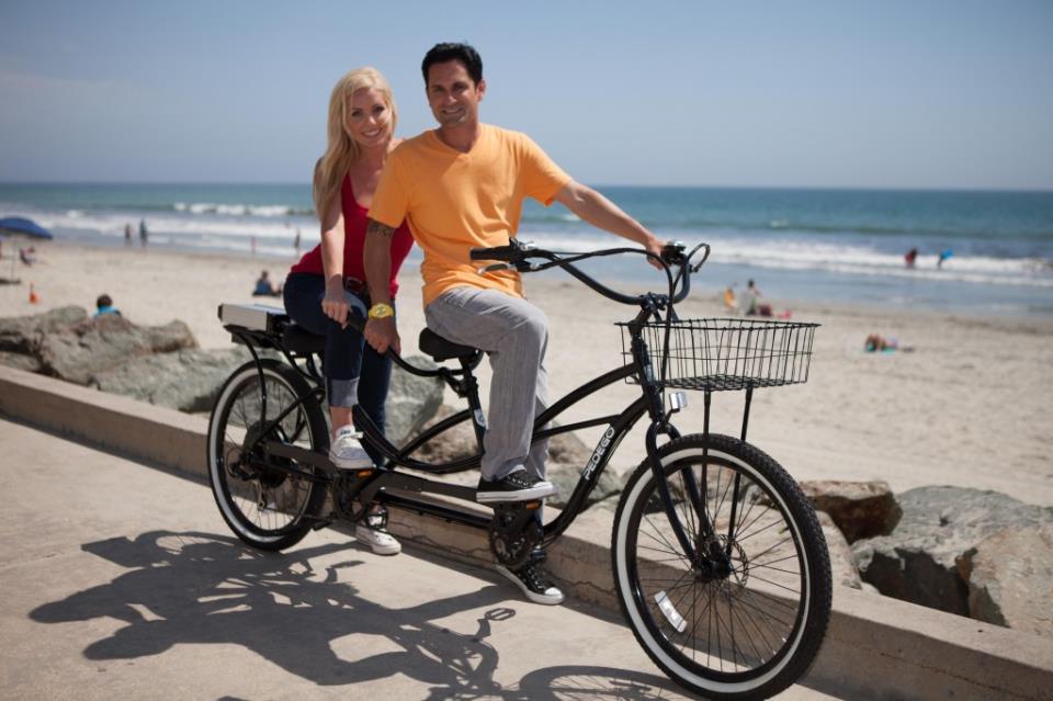 Велосипед-тандем: и в спорте есть место романтике!