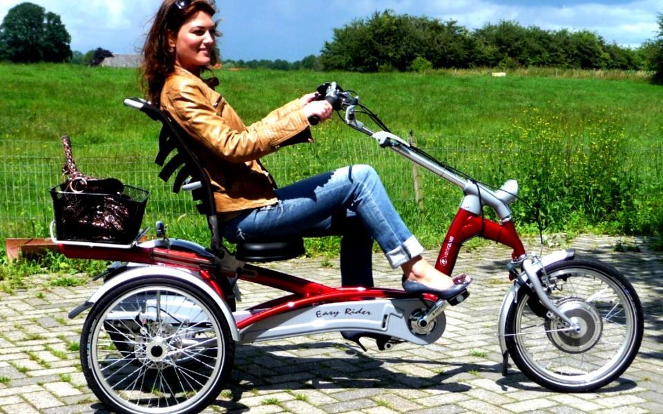 Велотрайк – трехколесный велосипед для взрослых