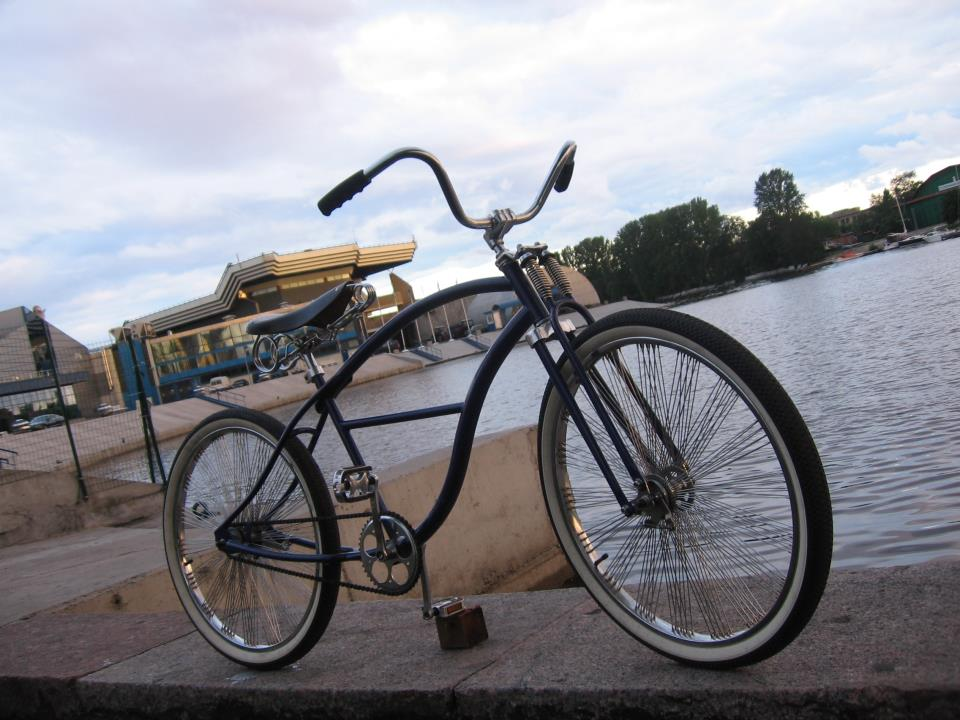 Велосипед-круизер: в седле, как на пьедестале!