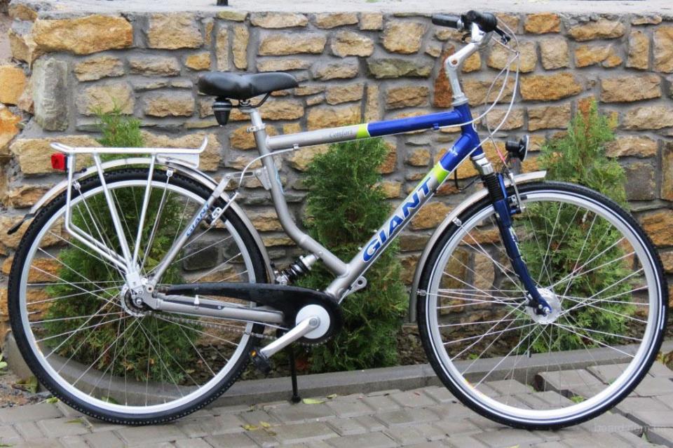 Полноподвесный велосипед