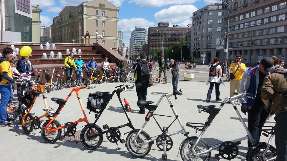 Складные велосипеды Strida