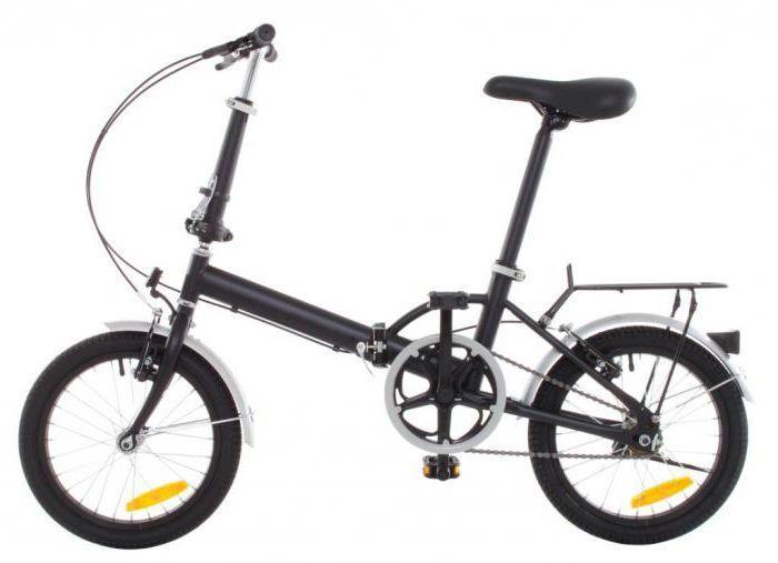 складной велосипед с алюминиевой рамой