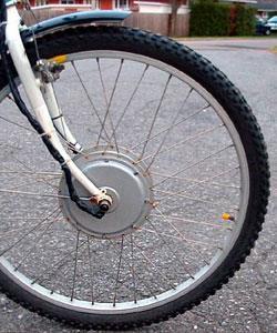Переднее мотор колесо для велосипеда