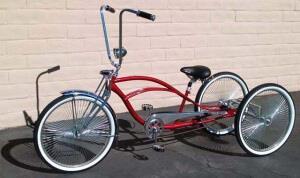 городской трехколесный велосипед чоппер