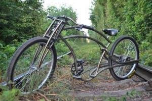 городской велосипед кастом-байк
