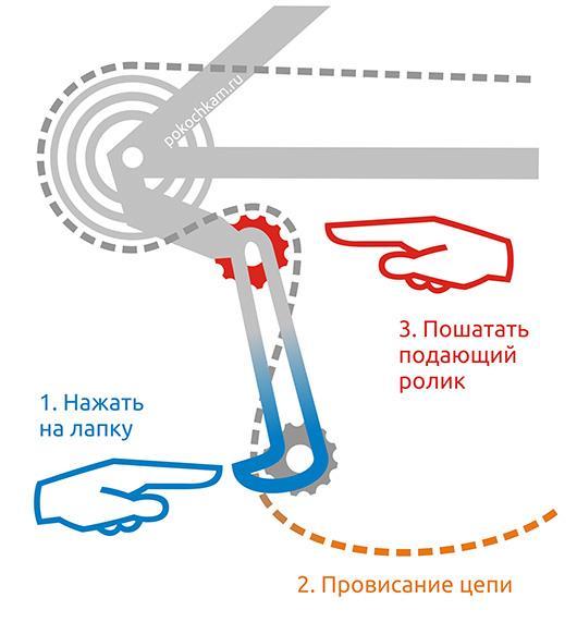 shimano rear derailleur scheme