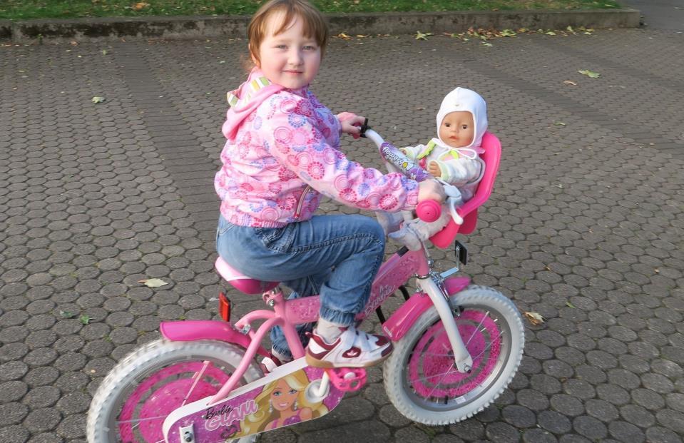 Прогулка на Велосипеде с Беби Бон Беном в Велосипедном кресле