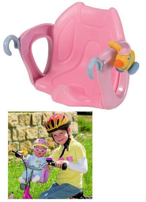 804-612 Велосипедное и автокресло для куклы baby born, zapf