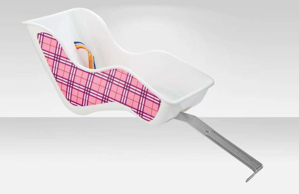 Кресло sw-dc01f flinger для кукол для дет. велос., крепл. за пер.вилку