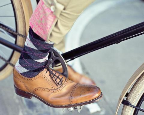 Классическая обувь для велосипеда