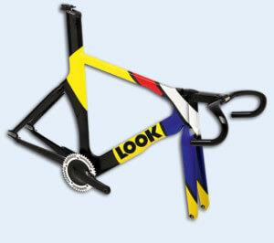Рама look для трекового велосипеда