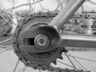 дропауты трекового велосипеда