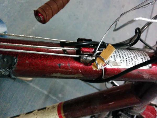 Что делать, если у вас порвался тросик заднего переключателя велосипеда