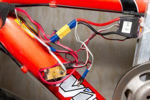крепление для электродвигателя на велосипеде