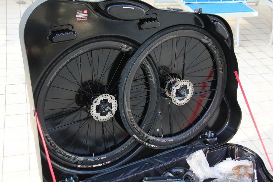 Велосипед в сумке