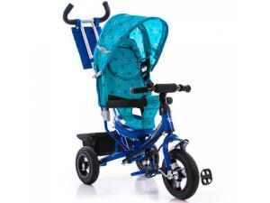 Детский трехколесный велосипед Azimut Air Blue