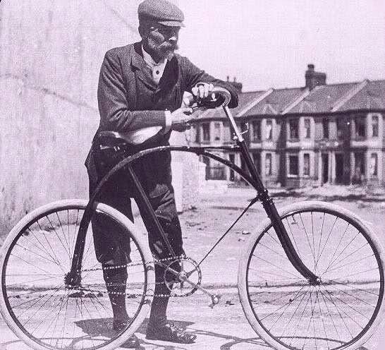 велосипед Джона Бойда Данлопа