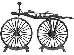 первый велосипед, дрезина
