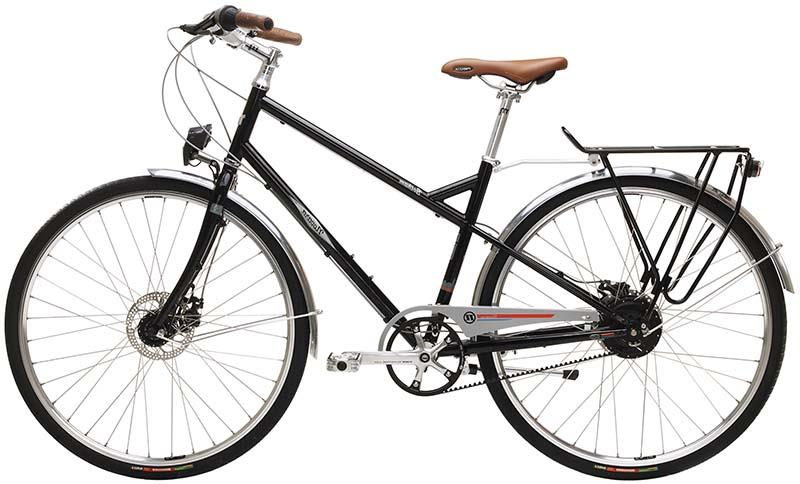 Хороший гибридный городской велосипед Novara Gotham