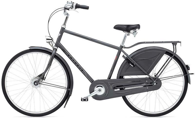 Оптимальный гибридный велосипед для езды по городу ElectraBike Amsterdam Royal 8i