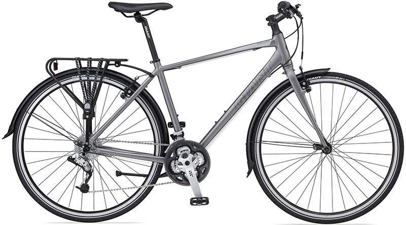 Велосипед гибрид для передвижения по городу Giant Escape City