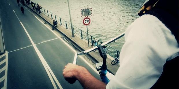 самый высокий в мире велосипед