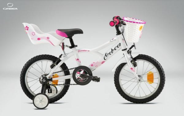 Стильный велосипед для девочки от 3 лет