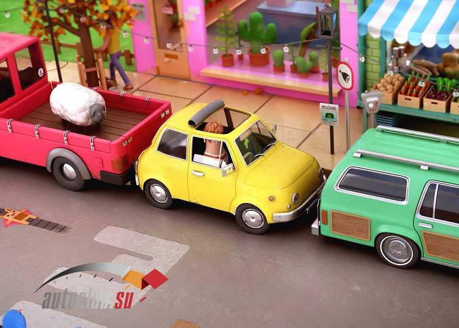 Как поставить машину между близко стоящими автомобилями
