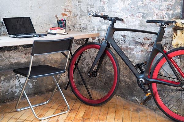 Vanhawk Valour - умный карбоновый велосипед