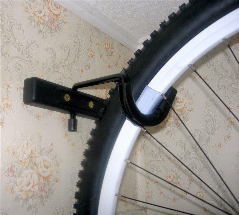 Подвешенный велосипед