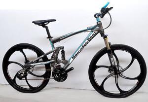 Велосипед на литых дисках Mercedes 600 Grey