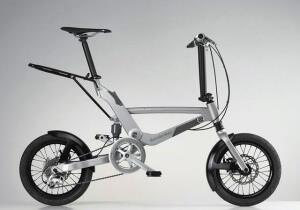 Складной двухподвесный велосипед для взрослых Mercedes-Benz Folding Bike