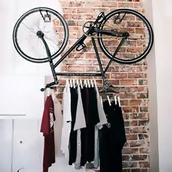 Как хранить велосипед в маленькой квартире