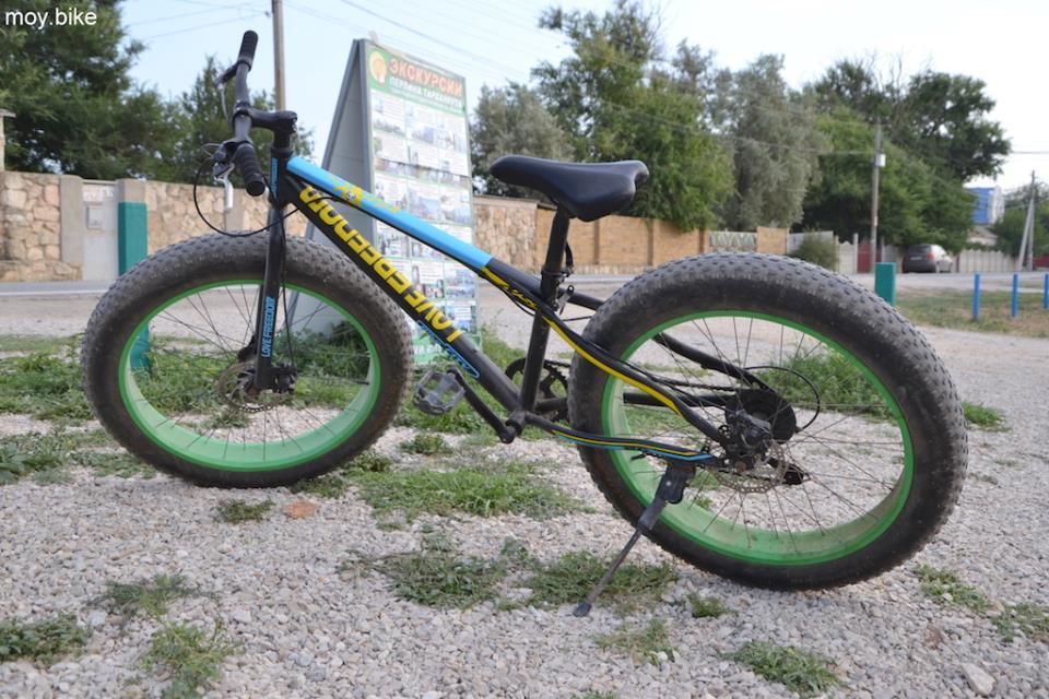 Fatbike - велосипед с широкими колесами фото
